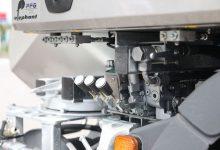 Komunalna nadgradnja FFG Elephant - komande pomožnega VT koluta