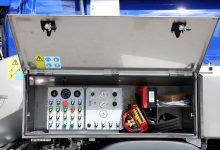 Komunalna nadgradnja FFG Elephant - nadzorna plošča