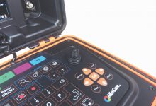 Mini-Cam SoloPro+ Potisna kamera za pregled cevovodov - tipkovnica