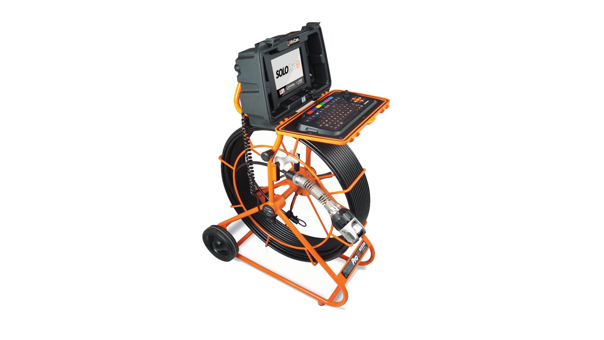 Mini-Cam SoloPro+ Potisna kamera za pregled cevovodov