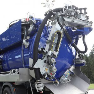 Komunalna nadgradnja FFG Elephant - teleskopska roka