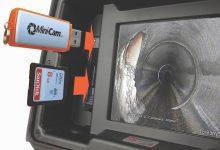 Mini-Cam SoloPro+ Potisna kamera za pregled cevovodov - prenos podatkov