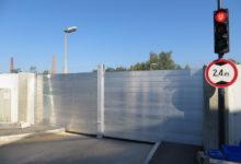 Lamelna protipoplavna zaščita IBS - Kočevarjeva ulica Celje