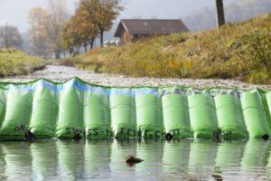 Pregradna protipoplavna zaščita Lenoir - Na varni strani poplav