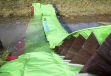 Pregradna protipoplavna zaščita Lenoir - Priprava