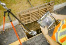 Kamera za hitre preglede cevovodov QuickView - Na terenu