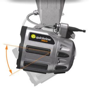 Kamera za hitre preglede cevovodov QuickView - Nadzor nagiba