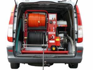 Vgradni čistilni stroj ROM Compact